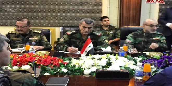 La conférence annuelle du centre quadripartite de l'échange des renseignements à Bagdad examine ce qui a été réalisé dans la lutte anti-terroriste