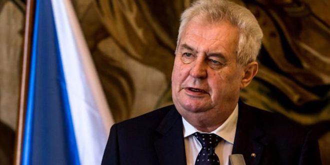 Zeman : C'est logique de soutenir le gouvernement syrien face à Daech