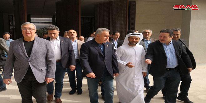 Une délégation d'hommes d'affaires syriens s'informe de l'expertise d'investissement à Masdar aux Emirats arabes unis