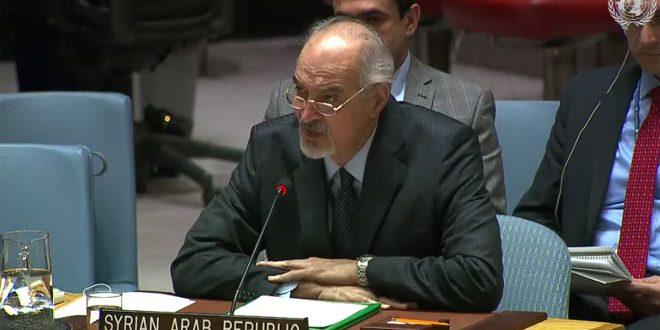 Jaafari : La récupération du Golan syrien occupé est un droit constant et incontestable de la Syrie