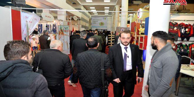 Avec la participation de 300 sociétés, coup d'envoi de l'exposition «fabriqué en Syrie» pour l'industrie textile