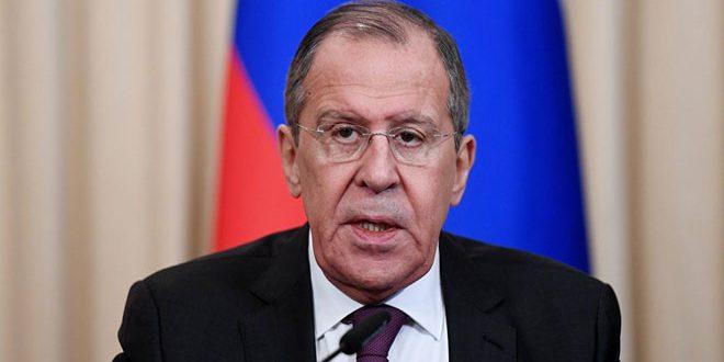 Lavrov: Nécessité de régler la crise en Syrie conformément à la résolution onusienne 2254