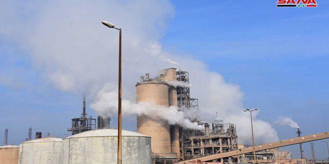 Redémarrage de l'usine d'Ammoniac urée à Homs