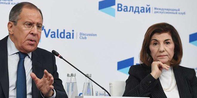 Lavrov examine avec Chaabane les développements de la situation en Syrie