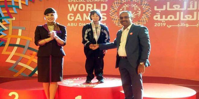 81 médailles diversifiées pour la sélection de la Syrie aux Jeux Olympiques spéciaux à Abou Dhabi