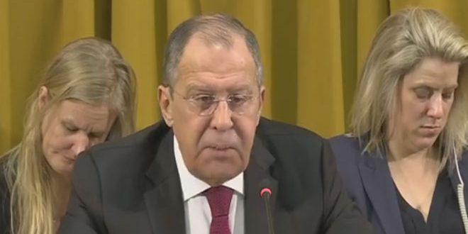 Lavrov: L'occident néglige l'usage par les terroristes de l'arme chimique en Syrie