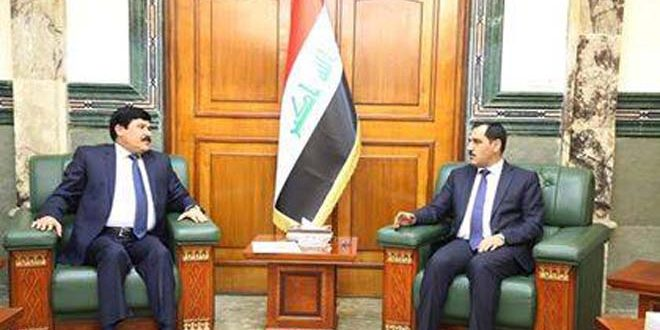 Entretiens syro-irakiens pour le renforcement de la coopération industrielle bilatérale