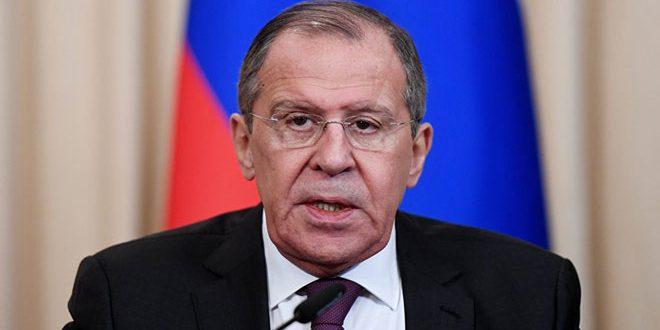 Lavrov: Nécessité d'éradiquer le terrorisme à Idleb