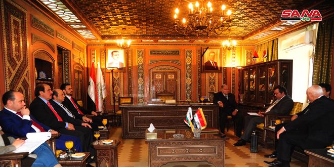 Une délégation bulgare à Damas pour examiner l'activation de la coopération économique entre les deux pays