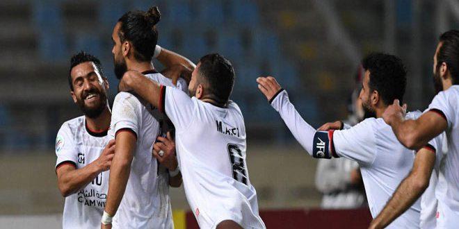 L'équipe d'al-Jeich se qualifie à la demi-finale au championnat de la Confédération asiatiatique