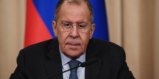 Lavrov: Nécessité de préserver l'intégrité territoriale de la Syrie conformément à la résolution N°2254