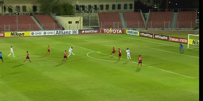 L'équipe al-Jaich bat son adversaire jordanienne al-Jaziraà la Coupe de l'AFC