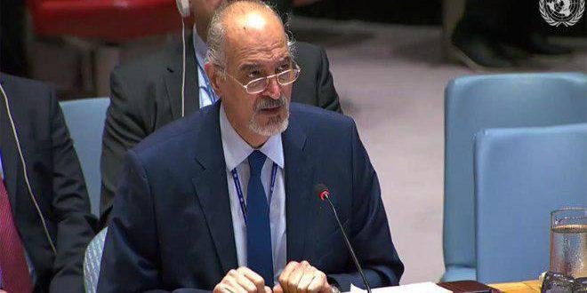 Jaafari: La Syrie continue à lutter contre le terrorisme et à défendre ses citoyens…Aucun pays n'accepte pas de laisser des terroristes contrôler l'une de ses zones