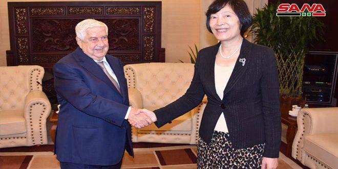 Mouallem poursuite sa visite en Chine et rencontre plusieurs personnalités économiques