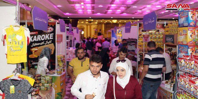 Avec la participation de 25 sociétés, inauguration du festival du shopping à Alep
