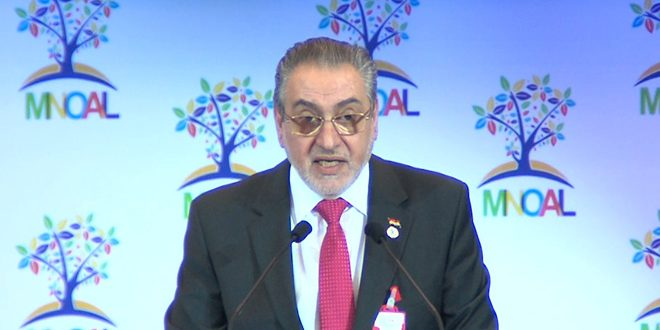 Dans son allocution devant la Réunion des pays non-alignés, l'ambassadeur Bitar affirme la nécessité de s'engager à la lutte contre le terrorisme