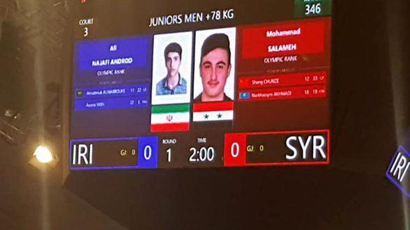 La sélection syrienne de Taekwondo obtient 2 médailles de bronze au championnat d'Asie