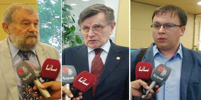 Experts russes : La Foire internationale de Damas est l'un des plus importants événements économiques au Moyen-Orient