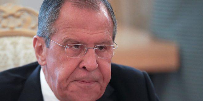Lavrov: On ne peut pas observer le silence devant l'existence de dizaines de milliers de terroristes à Idleb