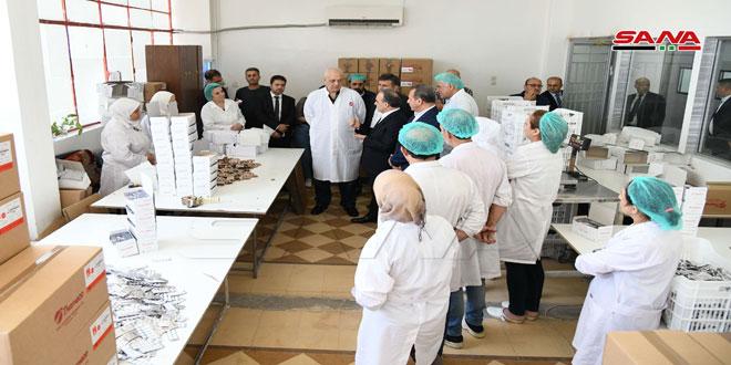 Khamis : Le gouvernement accorde un intérêt particulier au développement des industries pharmaceutiques