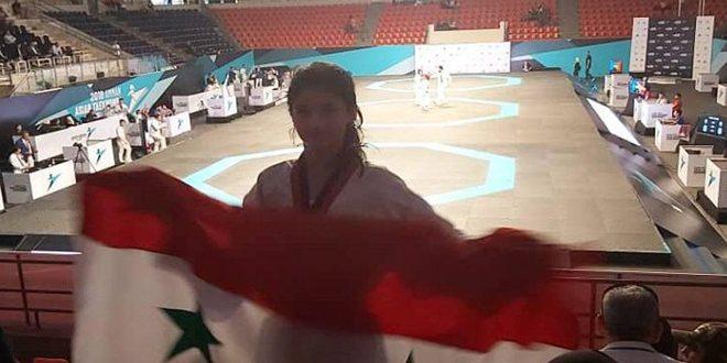 La sélection syrienne de Taekwondo remporte une 3e médaille de bronze au championnat d'Asie