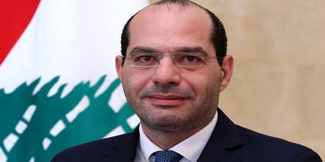 Mourad réitère son appel pour coordonner avec la Syrie pour l'intérêt des deux pays
