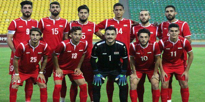 La sélection olympique syrienne de football entame un camp d'entraînement intérieur à Damas