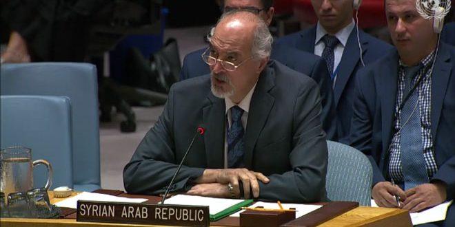 Jaafari affirme la nécessité d'éliminer l'occupation américaine et turque des territoires syriens