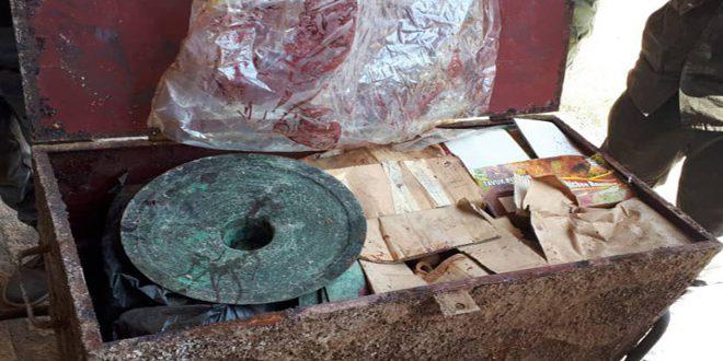 Récupération de plus de 300 pièces antiques dissimulées au musée d'Apamée