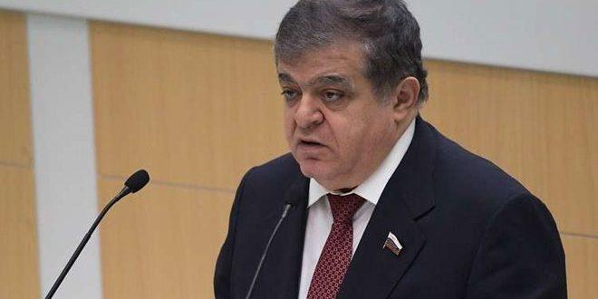 Jabbarov: Les opérations de l'armée syrienne contre le terrorisme à Idleb sont absolument légitimes