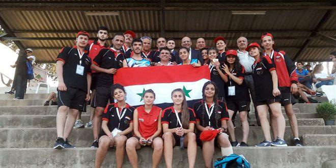 Deux médailles d'or et une d'argent pour la Syrie à la 2e journée du Championnat d'Asie de l'Ouest d'athlétisme