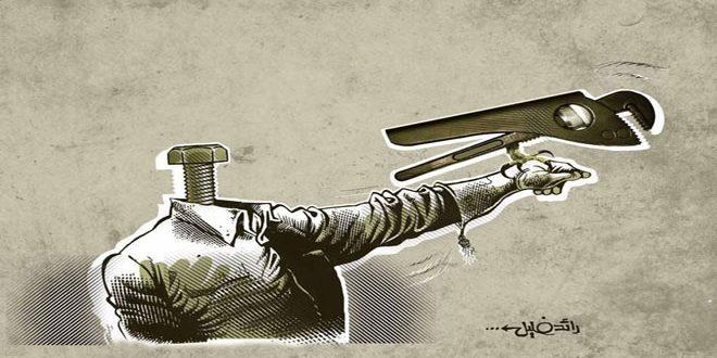 Le caricaturiste syrien Raed Khalil remporte un prix au festival de Caratinga au Brésil