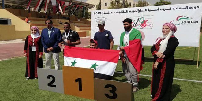 Sept médailles pour la Syrie au 2e tournoi d'Asie occidentale pour les sports spéciaux