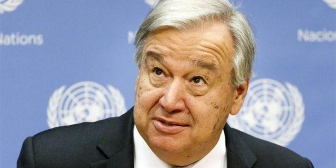 Guterres annonce la conclusion d'un accord sur la formation du comité constitutionnel
