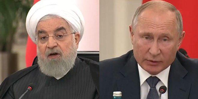 Poutine et Rohani : Nécessité de préserver l'unité et la souveraineté de la Syrie