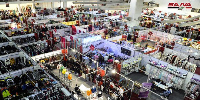 Avec la participation de 100 sociétés, coup d'envoi du salon « Fabriqué en Syrie » pour les prêts-à-porter et les tissus