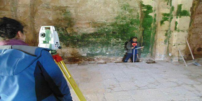 Travaux intensifs pour restaurer la citadelle du Krak des Chevaliers par l'expédition archéologique syro-hongroise