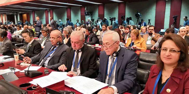 Avec la participation de la Syrie, poursuite des travaux de la 141e session de l'Union interparlementaire