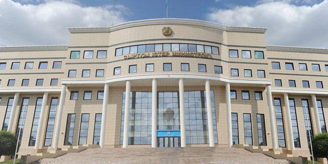 Le ministère kazakh des AE: Le prochain round des pourparlers d'Astana se tiendra les 10 et 11 décembre prochain