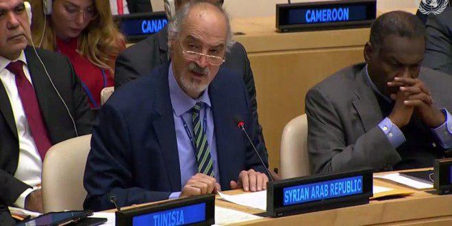 Jaafari : La Syrie aspire à parvenir à un traité global pour vider le Moyen-Orient des armes nucléaires