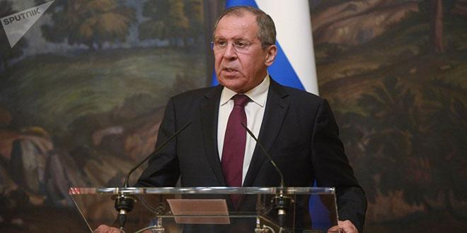 Lavrov: Washington continue à soutenir le réseau terroriste du Front Nosra en Syrie