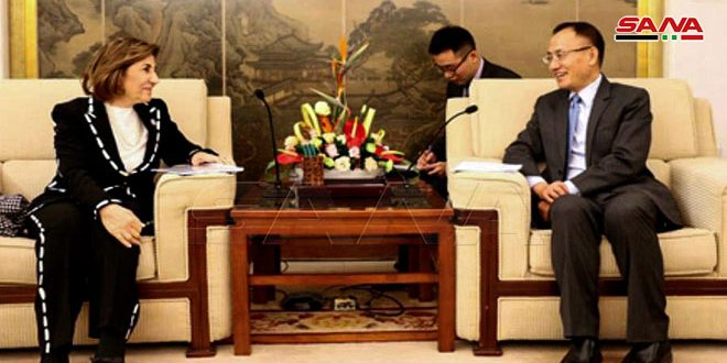 Xiaodong à Chaabane: Poursuite du soutien de la Chine à la Syrie