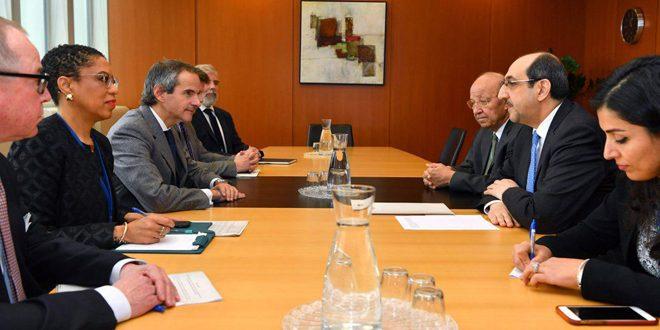 La Syrie affirme son engagement à renforcer l'exécution des actes juridiques liés aux travaux de l'Agence internationale de l'énergie atomique