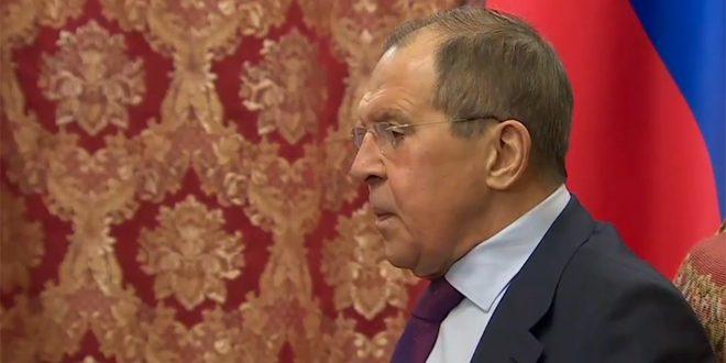 Lavrov : Il faut éradiquer le terrorisme à Idleb