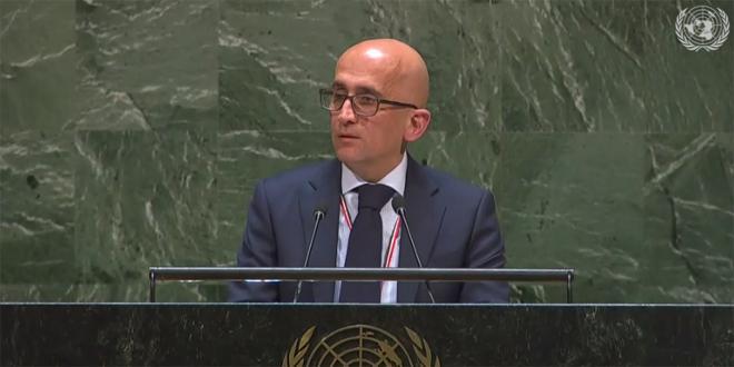 Ersane : Les efforts faits par l'ONU resteront toujours fragiles tant qu'il y ait un embargo imposé au peuple syrien