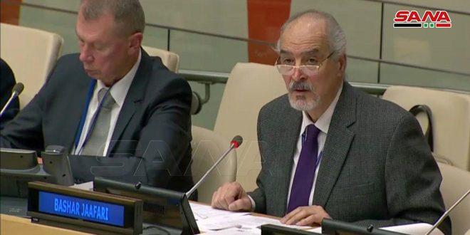 Jaafari : La Syrie rejette toute conclusion future de la mission d'enquête sur l'utilisation présumée d'arme chimique à Douma