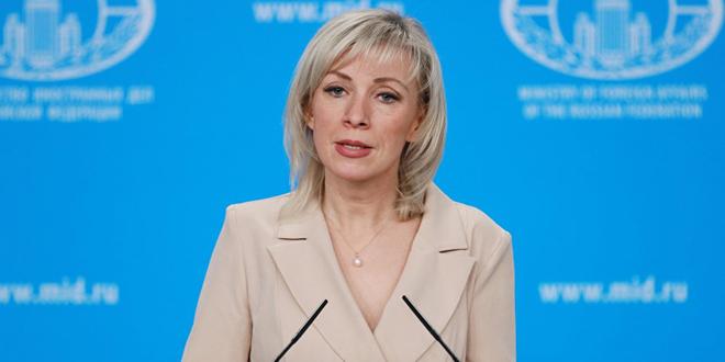 Zakharova : L'évacuation des personnes déplacées du camp de Rukban a été retardée à cause d'obstacles mis par l'occupant américain