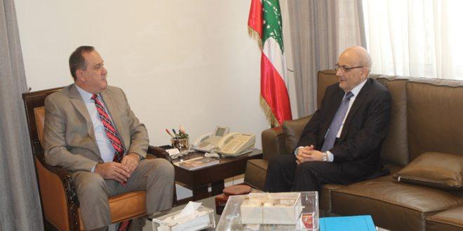 Discussion de la coopération économique entre la Syrie et le Liban