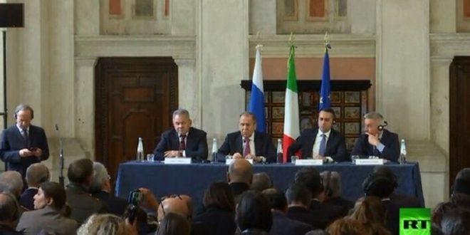 Lavrov affirme la nécessité d'éradiquer les derniers foyers du terrorisme en Syrie