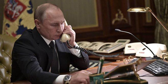 Poutine affirme dans un appel téléphonique avec le président du régime turc la nécessité de respecter la souveraineté de la Syrie